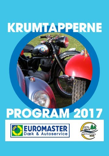 Krumtapperne Program 2017