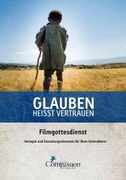 Filmgottesdienst Broschüre