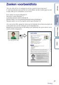 Sony NEX-5 - NEX-5 Guide pratique Néerlandais - Page 5
