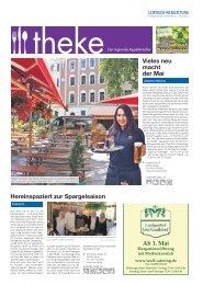 THEKE April 2017 | Der regionale Appetitmacher
