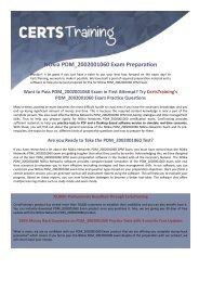 Nokia Mobililty Networking CPM PDM_2002001060 Exam Dumps