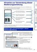 Sony NEX-5 - NEX-5 Guide pratique Allemand - Page 2
