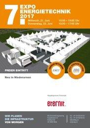 7. EXPO Energietechnik 2017 Niederurnen