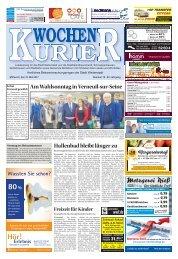 Wochen-Kurier 19/2017 - Lokalzeitung für Weiterstadt und Büttelborn