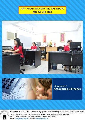 ❸❹❺ Tuyển nhân viên kế toán làm việc tại Thành phố Hồ Chí Minh