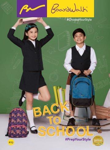 BOARDWALK BACK TO SCHOOL CATALOG ends July 2017 (1)