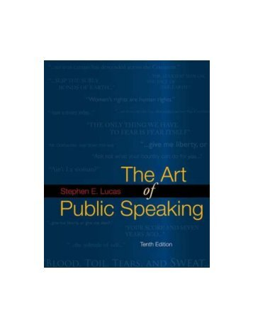 The Art of Public Speaking, 10th Edition(2009)BBS