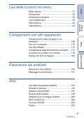 Sony NEX-F3D - NEX-F3D Consignes d'utilisation Italien - Page 4