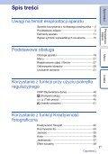 Sony NEX-F3D - NEX-F3D Consignes d'utilisation Polonais - Page 3
