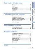 Sony NEX-F3D - NEX-F3D Consignes d'utilisation Polonais - Page 4