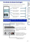 Sony NEX-F3D - NEX-F3D Consignes d'utilisation Suédois - Page 2