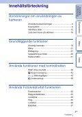 Sony NEX-F3D - NEX-F3D Consignes d'utilisation Suédois - Page 3