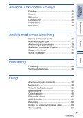 Sony NEX-F3D - NEX-F3D Consignes d'utilisation Suédois - Page 4