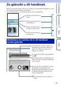 Sony NEX-F3D - NEX-F3D Consignes d'utilisation Néerlandais - Page 2