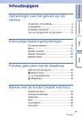 Sony NEX-F3D - NEX-F3D Consignes d'utilisation Néerlandais - Page 3