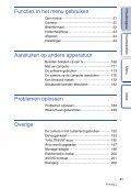 Sony NEX-F3D - NEX-F3D Consignes d'utilisation Néerlandais - Page 4