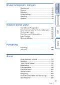 Sony NEX-F3D - NEX-F3D Consignes d'utilisation Norvégien - Page 4