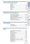 Sony NEX-F3D - NEX-F3D Consignes d'utilisation Finlandais - Page 4