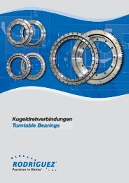 Kugeldrehverbindungen Turntable Bearings - Military Systems ...