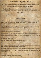 Klep Rule book V1 .1 - Page 5