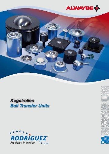 Kugelrollen Ball Transfer Units - Rodriguez