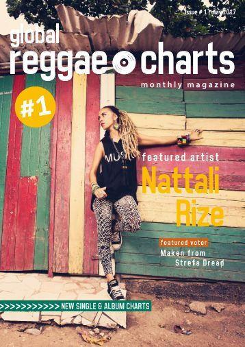Global Reggae Charts - Issue #1 / May 2017