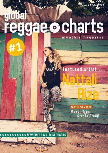 Global Reggae Charts - Issue #1 / May 2017