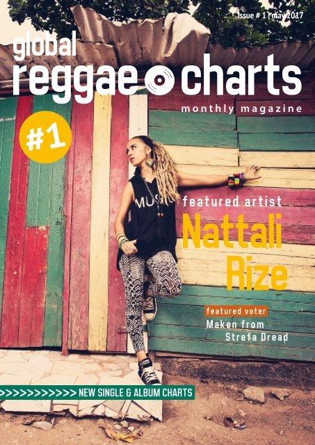 Global Reggae Charts Issue 1 May 2017