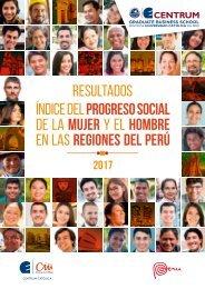 Índice de Progreso Social de la Mujer y el Hombre en las Regiones del Perú - 2017