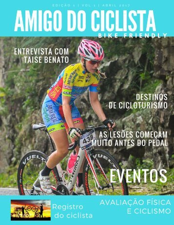REVISTA - AMIGO DO CICLISTA