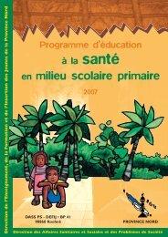 Programme d'éducation à la santé scolaire 2007