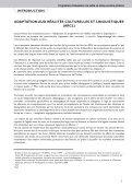 Programme d'éducation à la santé scolaire 2007 - Page 5