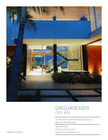 Magazine Greg Moesser