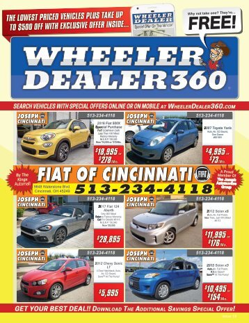 Wheeler Dealer Issue 19, 2017