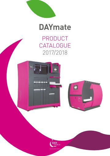 DAYmate Product Catalogue 2017-2018