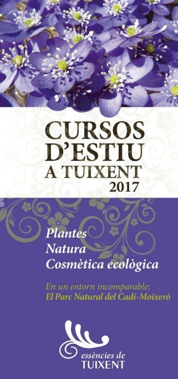 Cursos d'estiu a Tuixent 2017