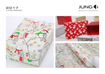 JUNG Christmas gift wrap Collection 2017