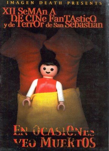XII semana de cine fantástico y de terror de San Sebastian