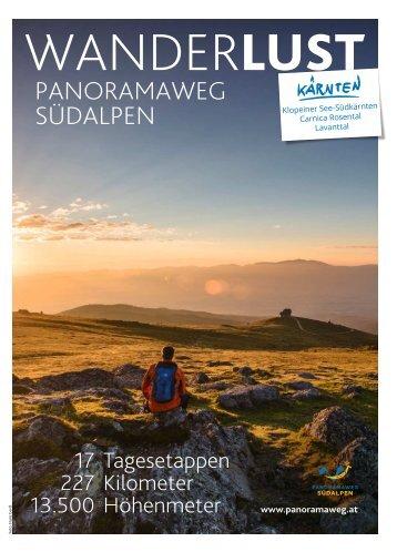Panoramaweg Südalpen 2017-05-04