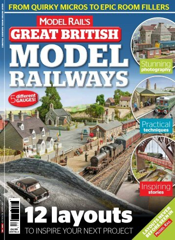 MODEL RAIL'S GREAT BRITISH MODEL RAILWAYS