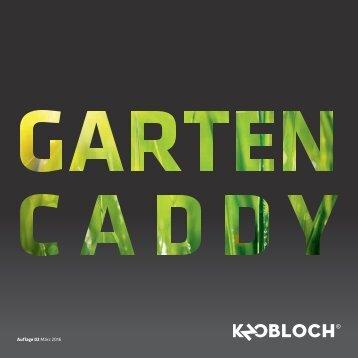 Gartencaddy von KNOBLOCH