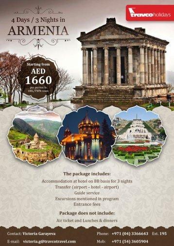 4 days in Armenia