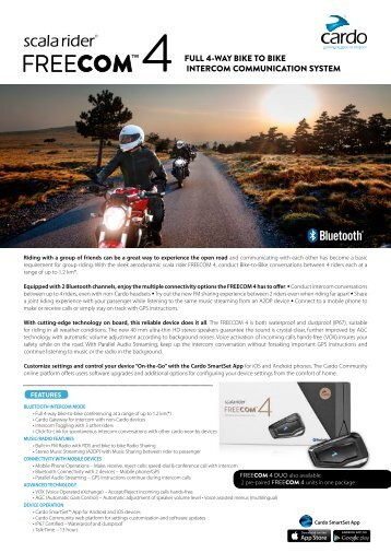 Scala rider FREECOM 4