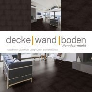 dwb Produktinformation LederFloor Bison chocolate L710