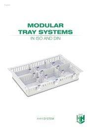 Modular Tray System ISO