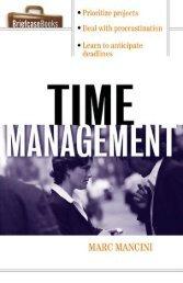 Time Management - Marc Mancini