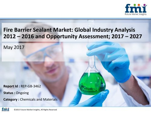 Fire Barrier Sealant Market