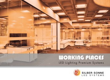 LED Lighting Working places