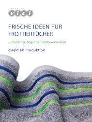 Vici Katalog Frottierware