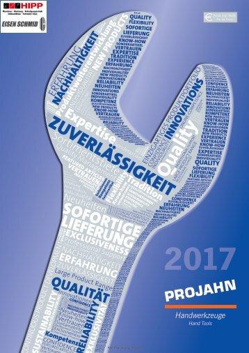 2017 Katalog Projahn Handwerkzeuge